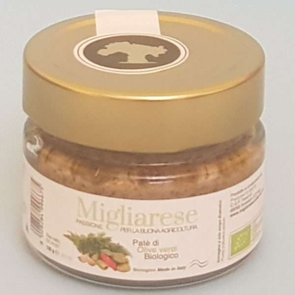 Paté di Olive Verdi Biologico