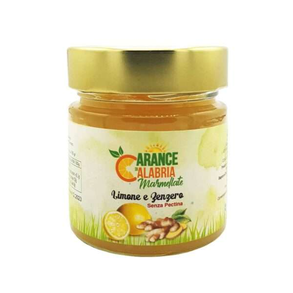 Marmellata limone e Zenzero